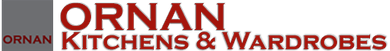 Ornan Kitchens and Wardrobes logo